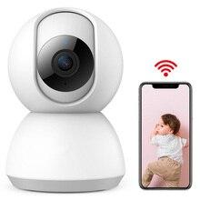 Baby Sleeping Monitors 360 Degrees 1080P Monitor Night Vision IR Motio Detection Two Way Audio Infant
