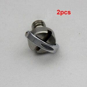 """Image 5 - Aço inoxidável cativo 1/4 """"c anel parafuso para câmera tripé placa de liberação rápida"""