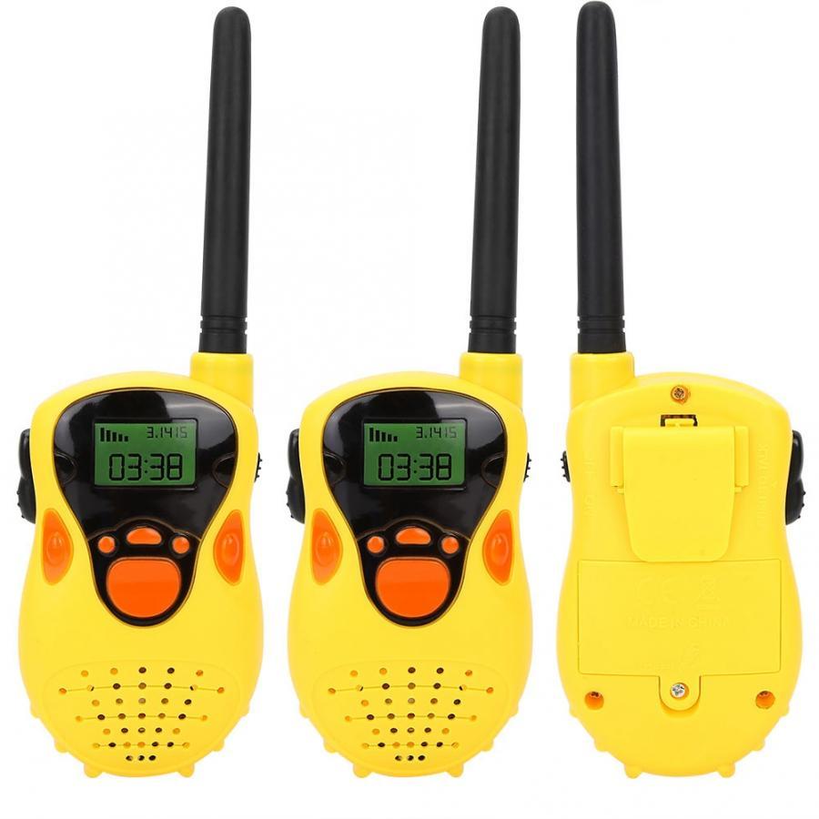 Мини 80-100 м рации электронные Радио переговорные наружные игрушки для детей родитель-ребенок Взаимодействие игры дети подарок
