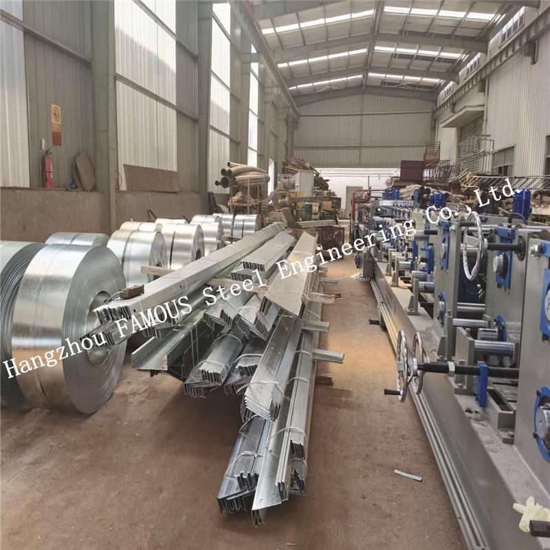 C25019 Lysaght Alternative Zeds Cees Zinc-coated Steel Purlins Girts AS/ANZ4600 Material Manufacturer