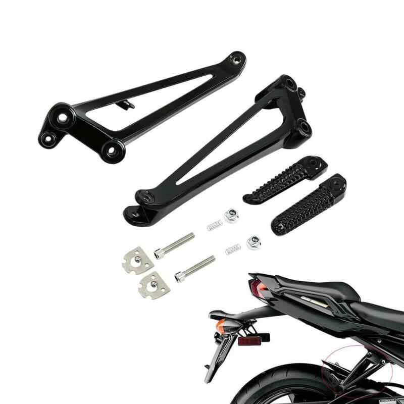 Motorcycle Black Front FootRest Foot Pegs Foot Pedal Fits For Yamaha YZF R1,YZF R6S YZF R6