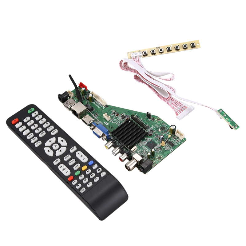 Hot Android 8.0 1G+4G 4 Cores MSD358V5.0 ligent Smart Wireless Network WI-FI <font><b>TV</b></font> <font><b>LCD</b></font> <font><b>Driver</b></font> Board Universal Controller image