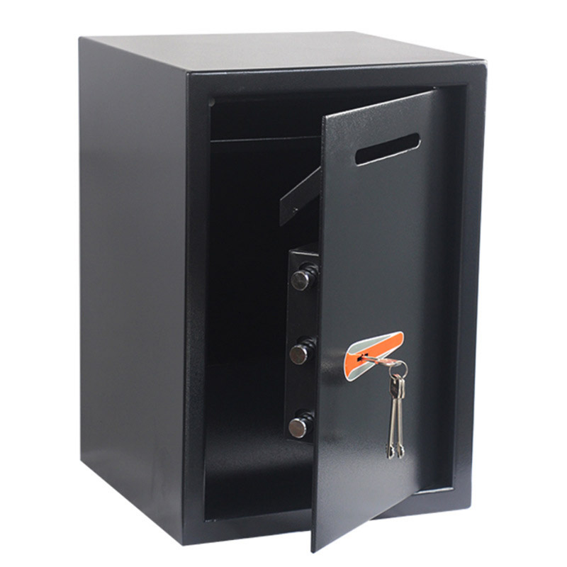 Safety Box Anti-theft Electronic Storage Bank Security Money Jewelry Storage Collection Home Office Security Storage Box DHZ054