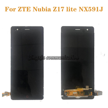 Original display For ZTE Nubia Z17 lite LCD + touch screen digitizer assembly for ZTE Nubia Z17 lite NX591J display repair parts jonsnow full coverage tempered glass for zte nubia z17 lite 5 5 inch protective film for zte nubia m2 lite screen protector