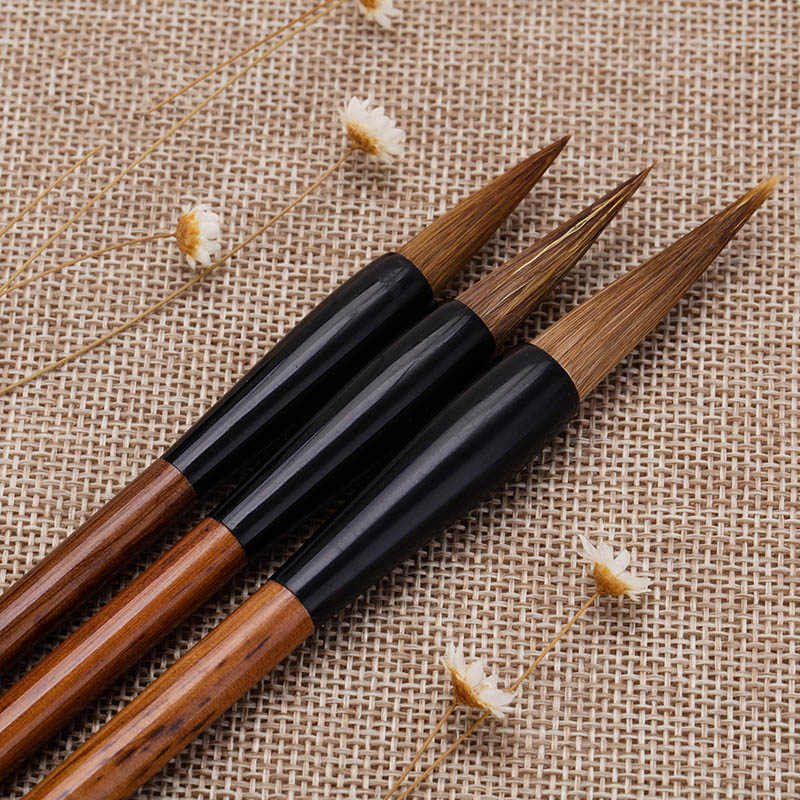 Calligraphy Pen Chinese Wolf Hair Writing Brush Paint Brush Professional Artist Drawing Watercolor Painting Brushes Supplies