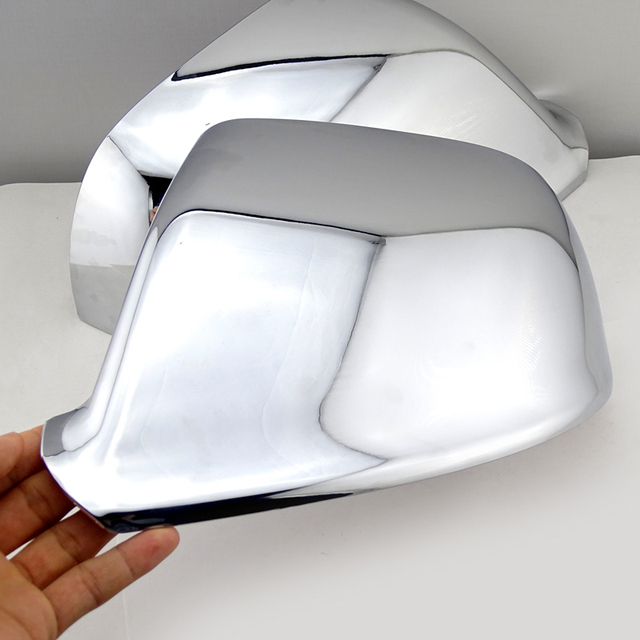 Car exterior accessories Chrome Door Wing side Mirror Cap rear view mirror cover for AUDI Q7 2006-2014 3