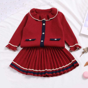 Melario Baby Girls Dress New Princess Dresses Autumn Winter Sweater Tops and A-Line Dress for Girl Kids Dress Children Clothing(China)