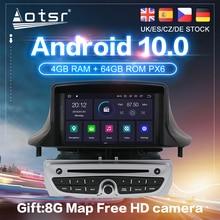 Android 10 PX6 для Renault Megane 3 2008-2014 Автомобильный GPS навигатор Авто Радио Стерео DVD Мультимедиа Видео плеер головное устройство 2din DSP