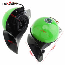 DC 24V Universal Waterproof Ultra Loud Double Tone Snail Horn Compact for SUV Car Truck Boat Scooter Motorcycle New