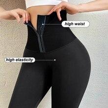 ATHVOTAR – Legging de Fitness pour femme, pantalon de sport, taille haute, Push-Up, Corset, Slim