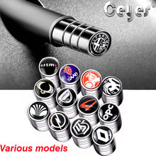 Ceyes Car Styling Auto Caps Case For Opel ALFA RENAULT SAAB Car-Styling Valve Bolt-in