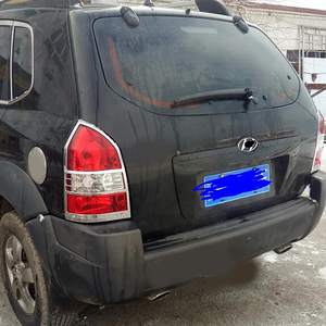Image 3 - Livraison gratuite ABS Chrome couvercle de lampe de phare arrière garniture 2 pièces/ensemble pour 2005 à 2012 pour Hyundai Tucson
