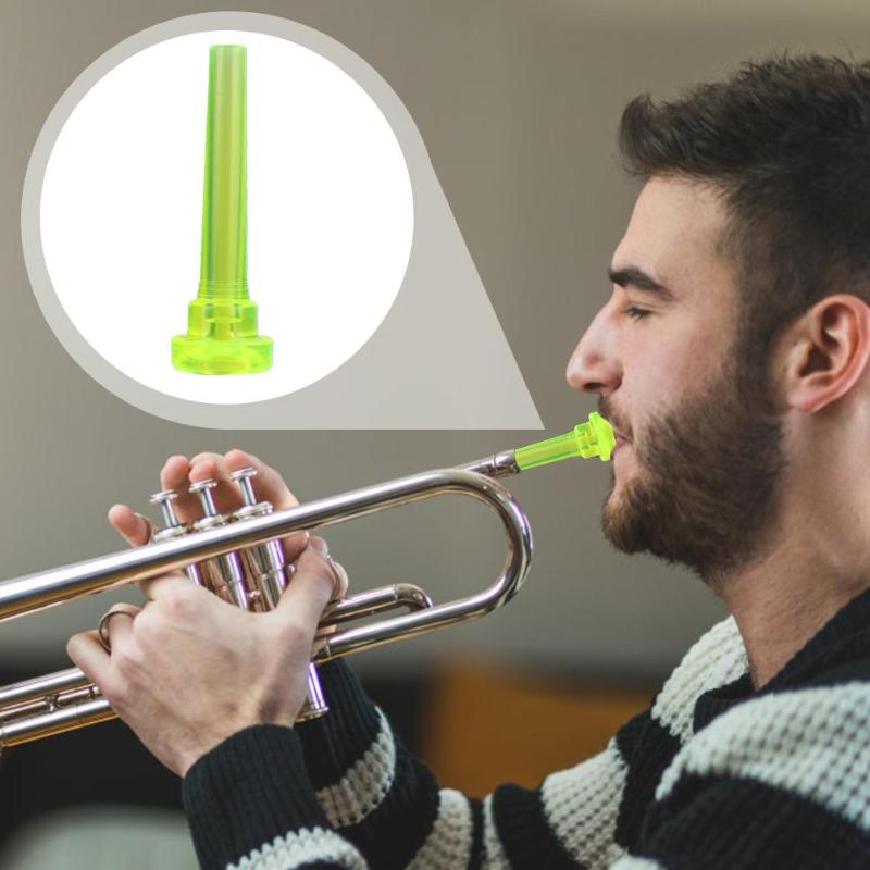1PC 3C Plastic Trumpet Mouthpiece Meg For Beginner Musical Trumpet Accessories Multi-Colors Musical Instrument And Accessories