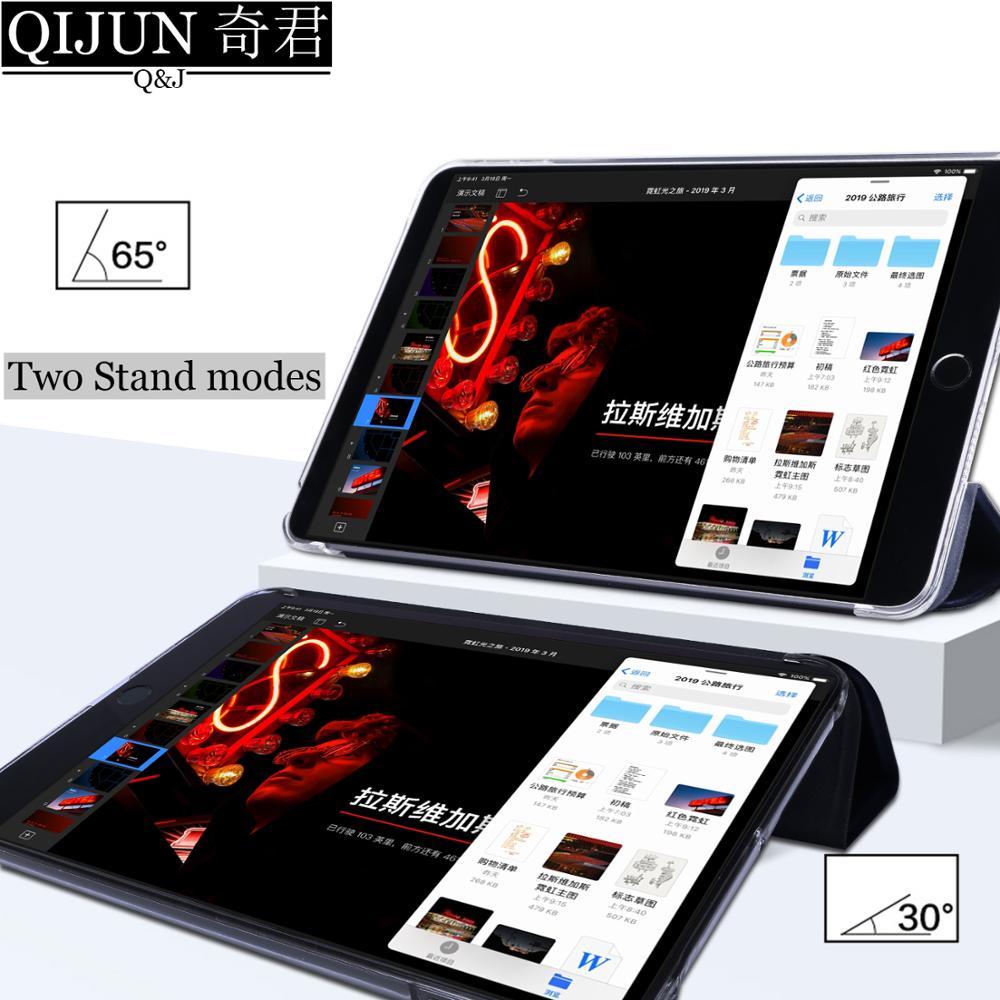 Чехол для планшета Samsung Galaxy Tab A 10,1 дюйма, кожаный чехол 2019 дюйма с функцией умного сна и пробуждения, тройная подставка, однотонный чехол, Обложка для телефона/T515-4