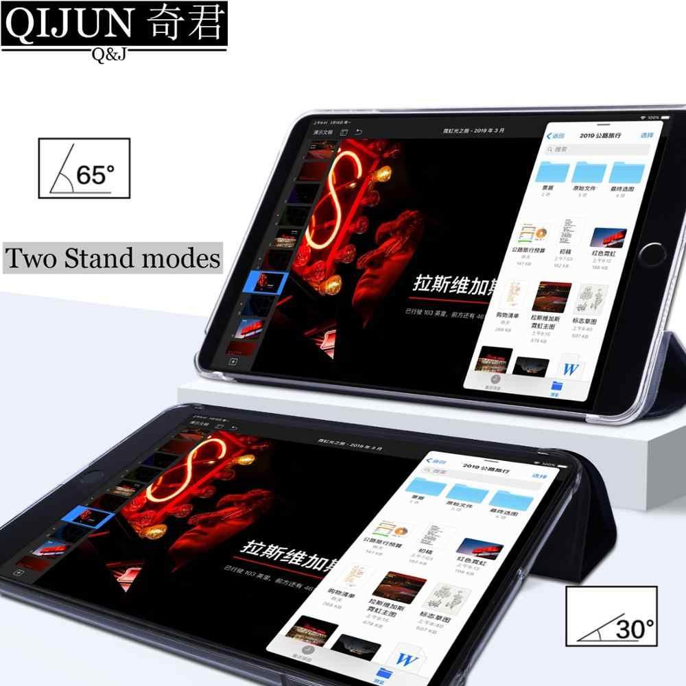 """Étui pour tablette pour Samsung Galaxy Tab A 10.1 """"2019 cuir intelligent sommeil réveil funda Trifold support solide couverture capa pour SM-T510/T515"""