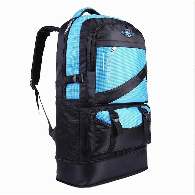 Waterproof Nylon Backpack 60 L