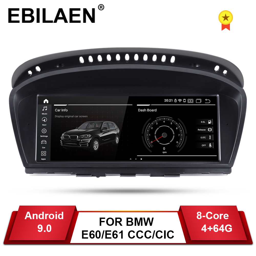 EBILAEN Gps-Player Navigation Autoradio Multimedia E91 E63 Android 9.0 3-Series E60 E61