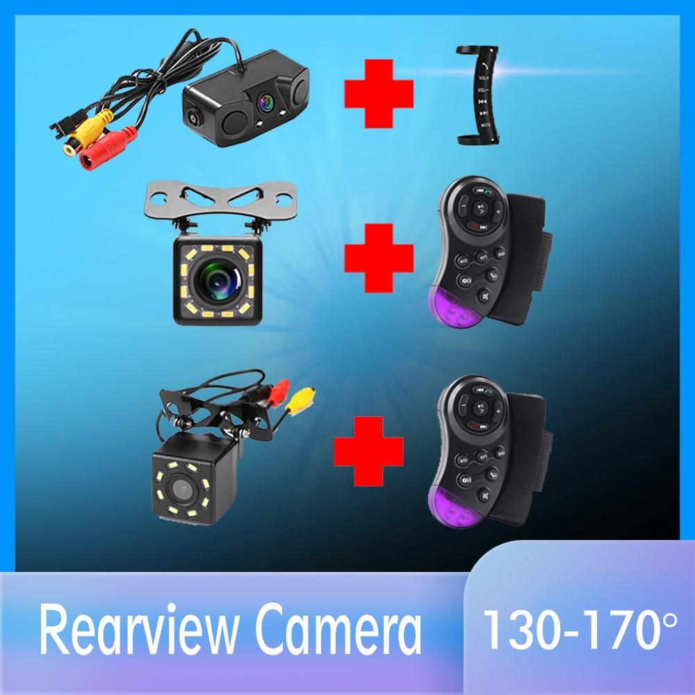 Car Rear View Camera Universal Backup Parking Camera Night Vision Waterproof 170 Wide Angle HD Color Image