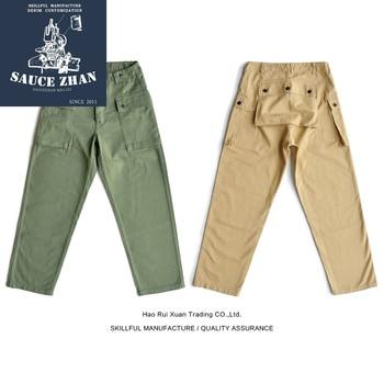 SauceZhan USMC P44 HBT U.S. Army Trousers VINTAGE Trousers Military Style Military Pants Men's Pants & Capris Casual Pants