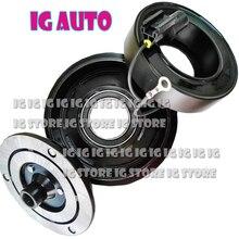 For Hyundai Sonata Santa Fe 2.2 2.4 Brand New AC Compressor Clutch ASSY  977013K220 CO10916C 471-6037 10362011 977012B151 santa fe junior
