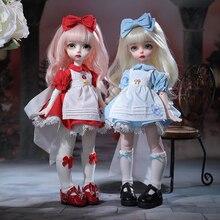 Roko & Nitta кукла BJD 1/6 трио куклы подвижный шарнир полный набор модные игрушки для девочек Подарки YOSD милая кукла