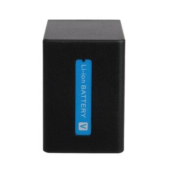 2 Pcs/Lot 3900mAh NP-FV100 NP FV100 NPFV100 Rechargeable Camera Batteries For SONY FDR-AX100E AX100E XR550E XR350E CX550E CX350E фото