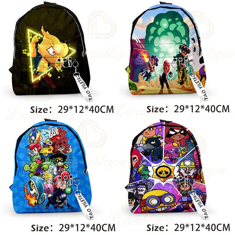 Jeu jeu héros de bande dessinée sac d'école Figure modèle Spike Shelly Leon PRIMO MORTIS jouets cadeaux d'anniversaire pour garçons filles enfants