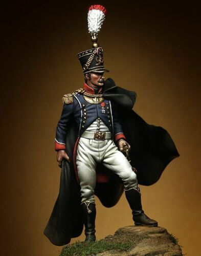 1/32 54mm ancient French Grenadier  stand (WITH  BASE )     Resin figure Model kits Miniature gk Unassembly Unpainted