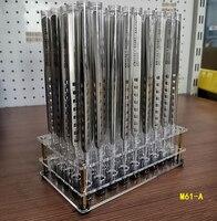 Multifuncional plástico transparente ferramenta de reparo do telefone móvel armazenamento rack chave de fenda pinças estêncil gadget caixa de armazenamento Conjuntos ferramenta manual     -