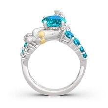 Новинка, Женское Обручальное кольцо «богиня моря» с русалочкой, подарок для любви, регулируемое богемное ювелирное изделие, милая девушка