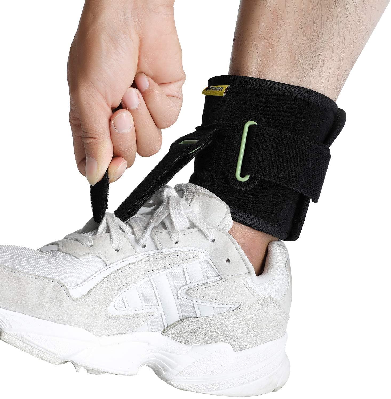Tenbon regulowana kostka z podparciem orteza podeszwowa Fasciitis stopa spadek stopa skurcze zapobieganie stabilizator stóp ulga w bólu straż Stra