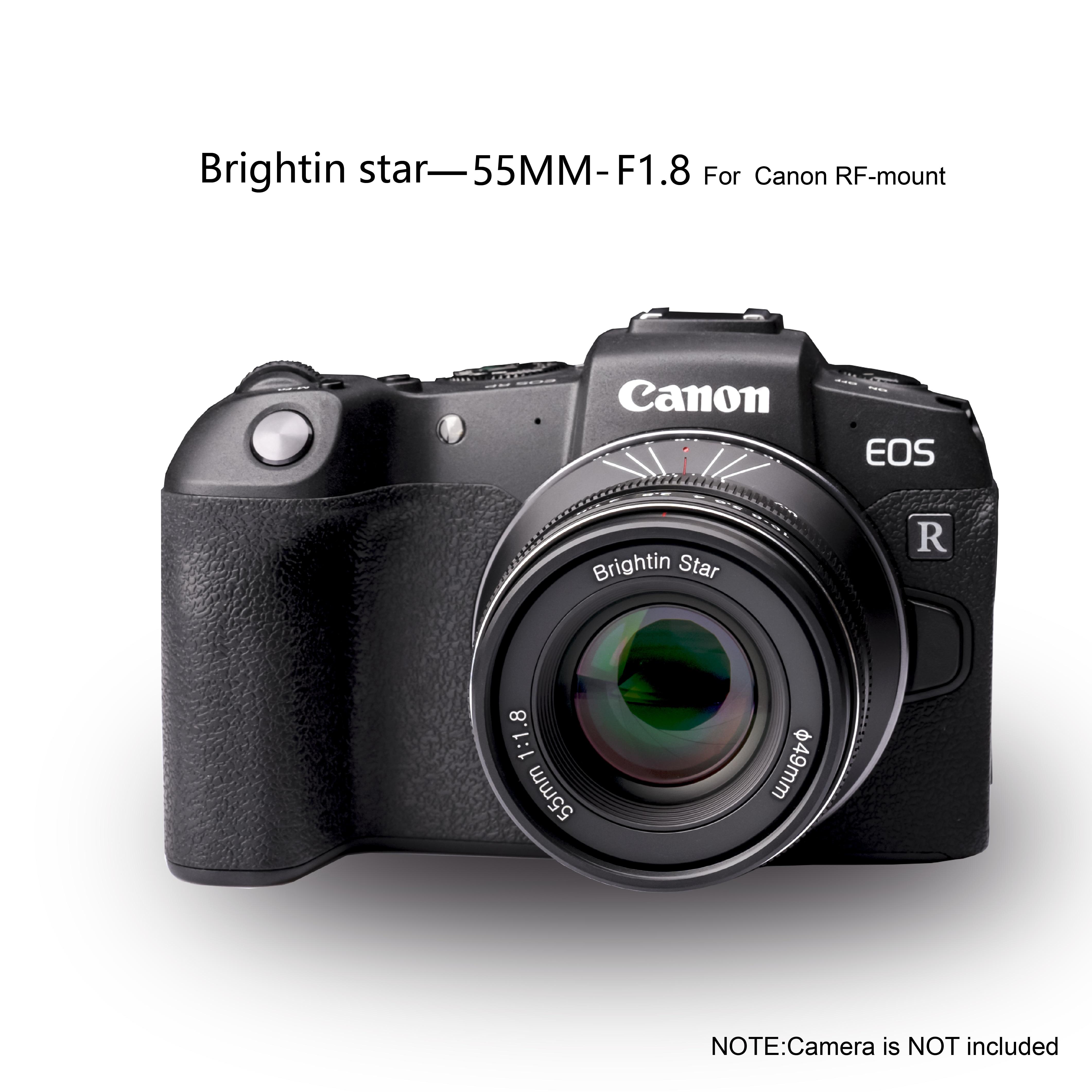 Multi-layer Coating Lens Brightin star 55mm F1.8 Full Frame Manual ...