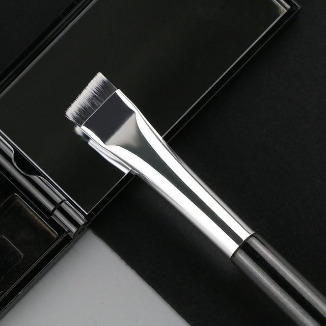 BEILI Black/Pink Eyebrow Makeup Brushes Single Professional Eyeliner Eyelash Concealer Brush Foundation Brushes Make up Tools 5