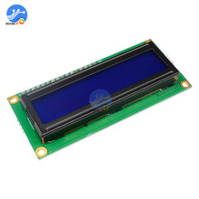 Межсоединений интегральных схем/I2C 1602 ЖК-дисплей Дисплей модуль ЖК-дисплей-1602 I2C синий Подсветка Дисплей 5V для Arduino UNO R3 Mega2560