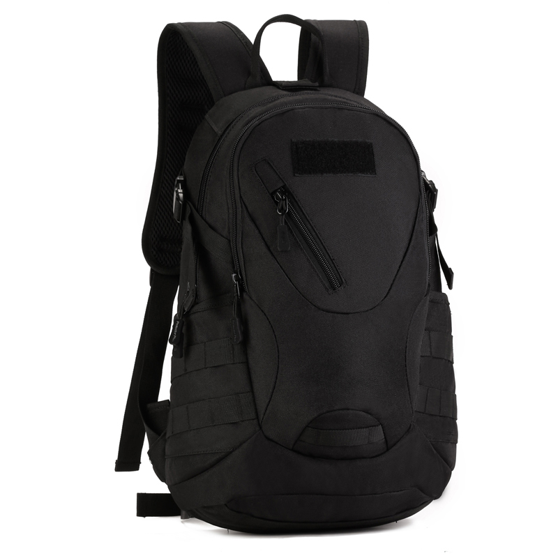 <font><b>20L</b></font> Outdoor Mini <font><b>Backpack</b></font> Tactical Molle Army Military Bag <font><b>Hiking</b></font> Camping Mountaineering Rucksack Riding Assault Bag School Bag image