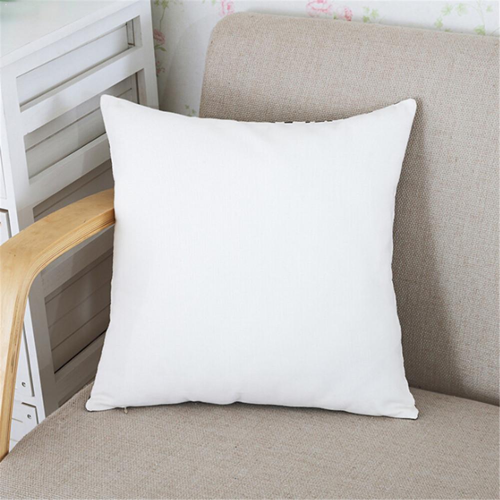 Белая Подушка с хлопковой подкладкой для дивана декоративные подушки Core, мягкая подушка для автомобиля I3R6