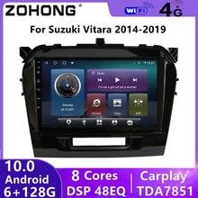 4G DSP אנדרואיד 10 עבור סוזוקי Vitara 2015 2016 2017 2018 2019 רכב מולטימדיה נגן וידאו GPS ניווט Autoradio סטריאו רדיו