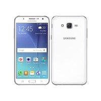 Samsung-teléfono inteligente Galaxy J5 reacondicionado, móvil libre J500F con doble Sim, pantalla LCD de 5,0 pulgadas, cuatro núcleos, 1,5 GB de RAM, 16GB de ROM