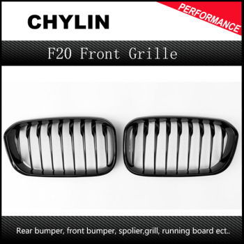 F20 LCI ABS front bumper Front grille for BMW facelifted F21 120i 118i 118d 116i M135i 2015 - 2018 image