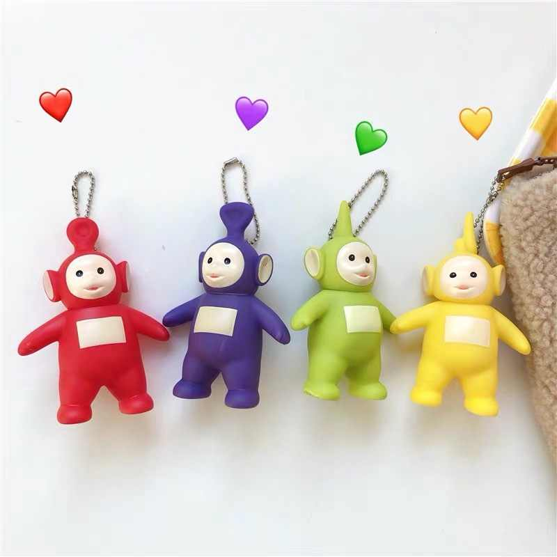 2019  cartoon teletubbies Doll  Keyring  New Original For Children Christmas Gift keychain action figure hot  gift