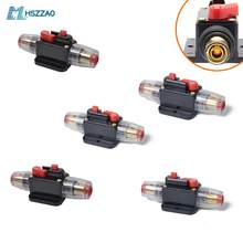 DC 12V Car Stereo Audio Circuit Breaker Inline Fuse 30/40/60/80/100AMP For car, marine, bost, bike, RV etc.(China)