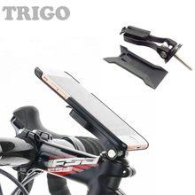 Trigo mtb motocicleta suporte do telefone móvel/garmin titular da bicicleta cabeça haste suporte de montagem