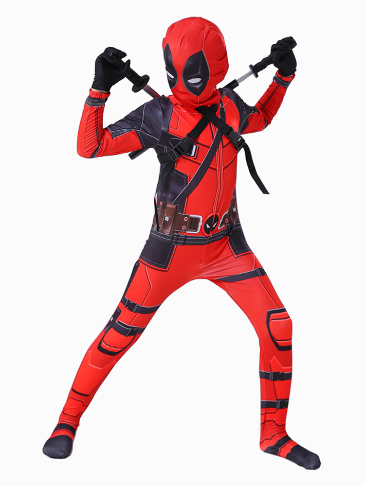 Deadpool Costume Halloween Boys Kids Children Party-Suit for Cosplay