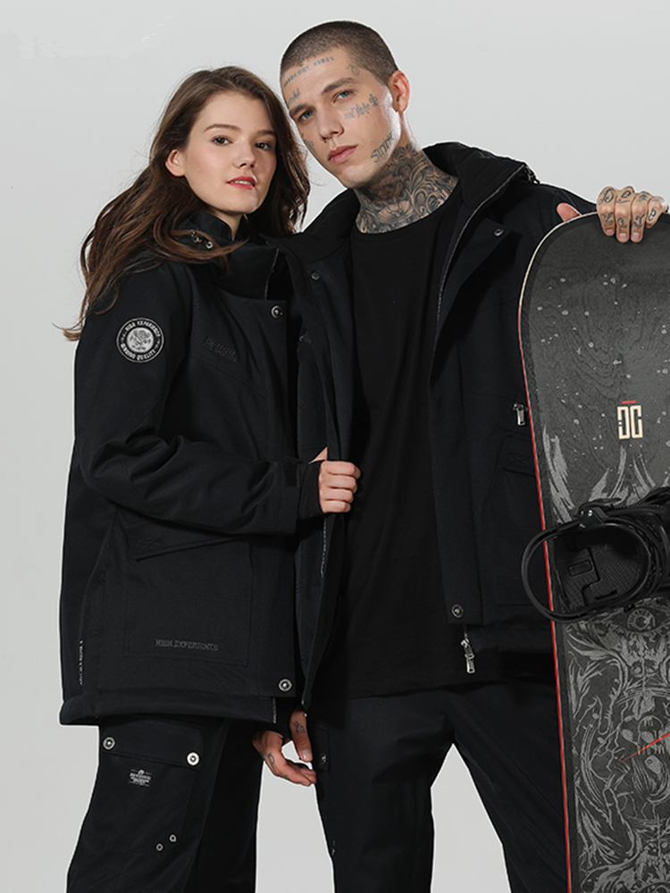 2019 Ski Anzug Snowboard Anzug Männer Winter Anzug Winter Ski Jacke Schnee Hosen Snowboard Sets Verdicken Winter Anzug Schnee Anzug männlichen