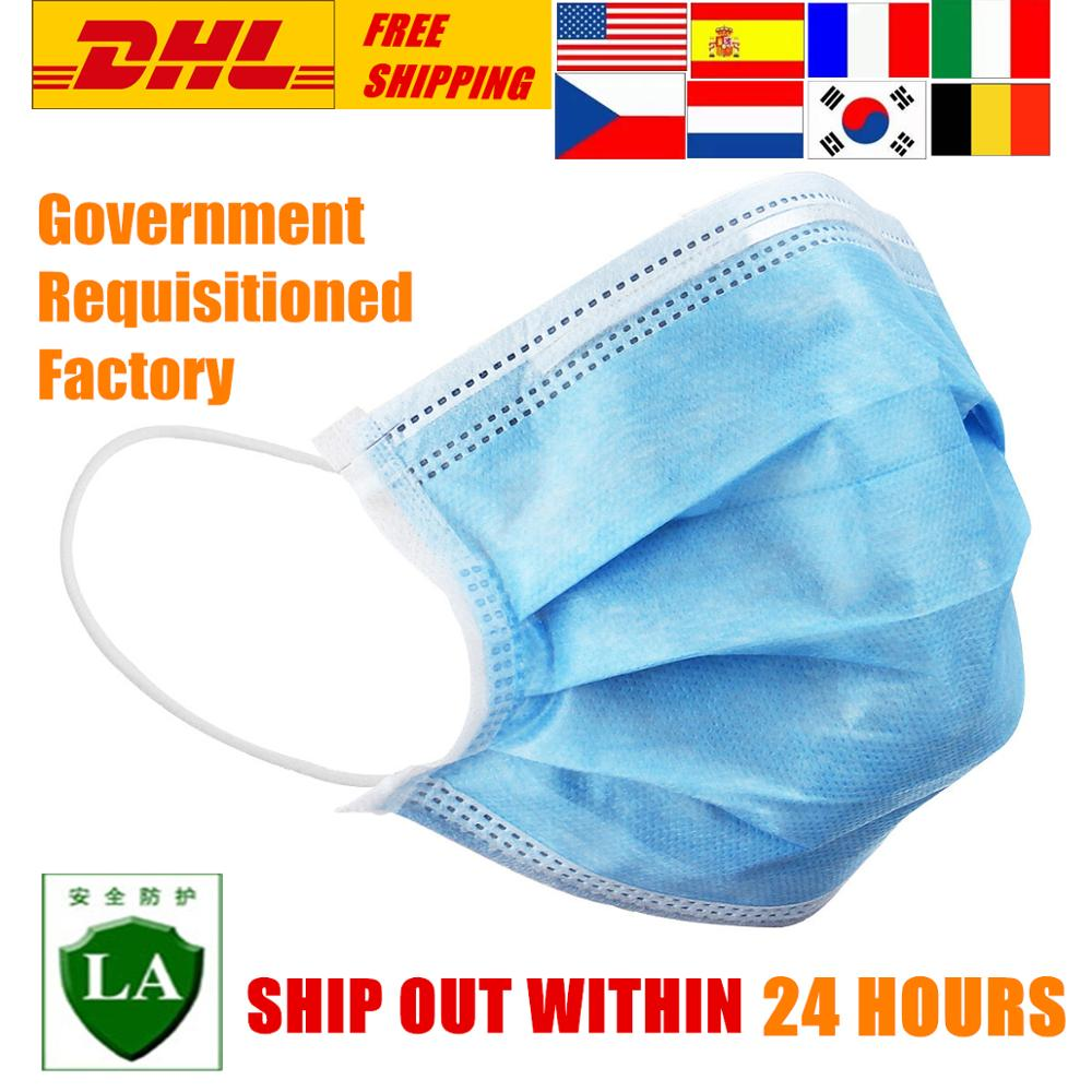 Disposable Rousky Protective Mouth Mask For The Face Masks Respirator Anti Dust Facial Masks Filter Mondmasker Cotton Rouska