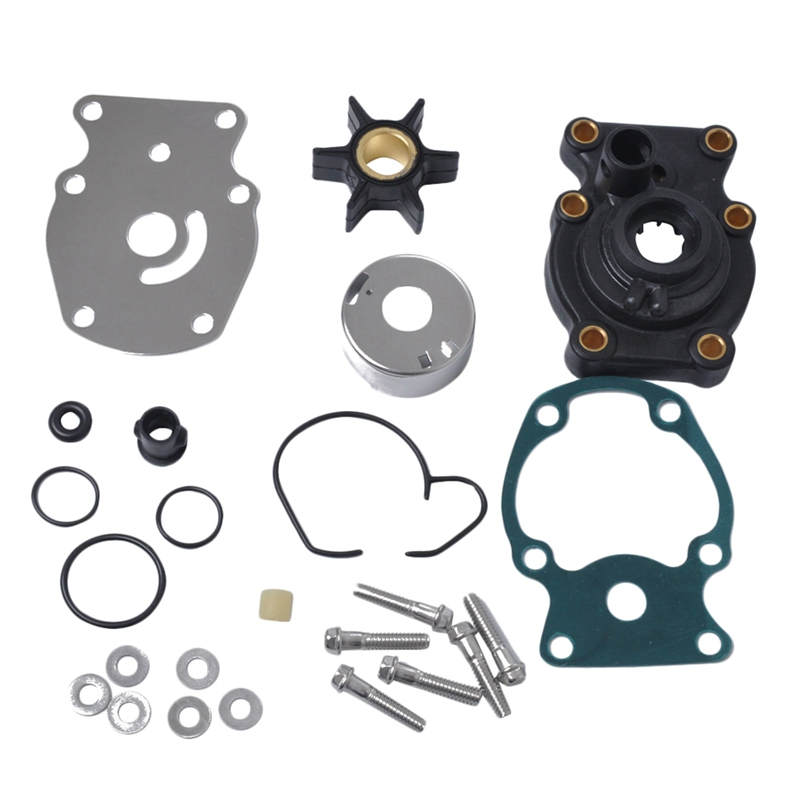 Water Pump Impeller Kit for Johnson Evinrude 20 25 30 35 HP Outboard OEM Part Number 393630 Replacement Repair Parts Fits 20hp 25hp 30hp 35hp