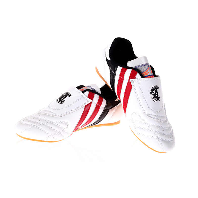 حذاء الملاكمة الرياضي للركض من التايكوندو حذاء عالي الجودة يسمح بالتهوية للكونغ فو وشو تايتشي وكاراتيه وفنون الدفاع عن النفس حذاء رياضي للمصارعة