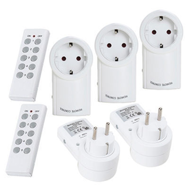 Universal for <font><b>Wireless</b></font> Outlet <font><b>Remote</b></font> Control <font><b>Socket</b></font> Light Switches House Power Outlet Light Switch <font><b>Socket</b></font> for Broadlink 2 TX To image