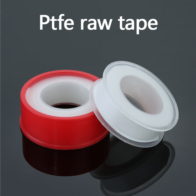 Industrial Sealant Tape PTFE Raw Material Tape Thread Sealing Tape Plumbing Duct Tape for Faucets Showers Hoses 1 Pcs