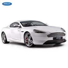 Welly 1:18 Aston Martin legering model auto simulatie auto decoratie collection gift toy spuitgieten model jongen speelgoed(China)